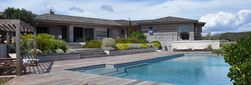 Tout sur les piscines en corse location de vacances for Villa a louer en corse avec piscine