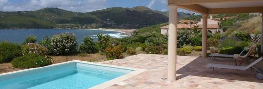 location maison corse avec piscine bord de mer ventana blog. Black Bedroom Furniture Sets. Home Design Ideas